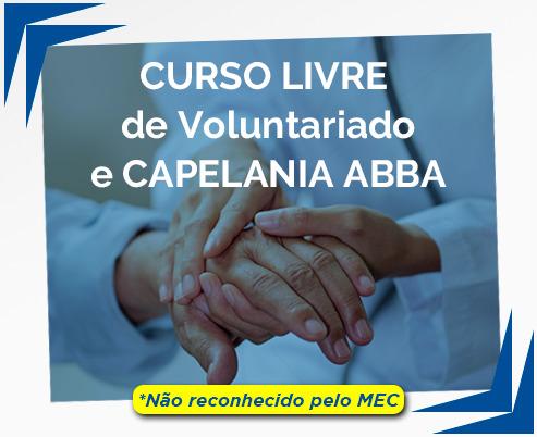 Curso Livre de Capelania e Voluntariado Hospitalar